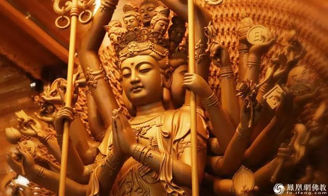 虔心诵持观世音菩萨的《大悲咒》可得12种不可思议的功德利益-第4张图片