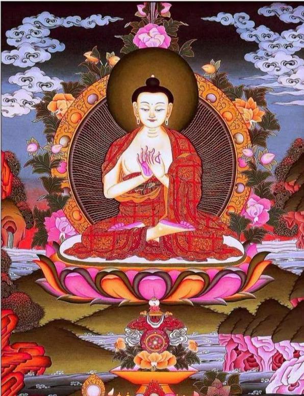 大日如来——释迦牟尼佛的三身之一,五方佛之一-第2张图片