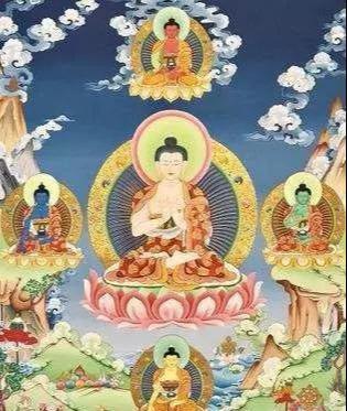 大日如来——释迦牟尼佛的三身之一,五方佛之一-第5张图片