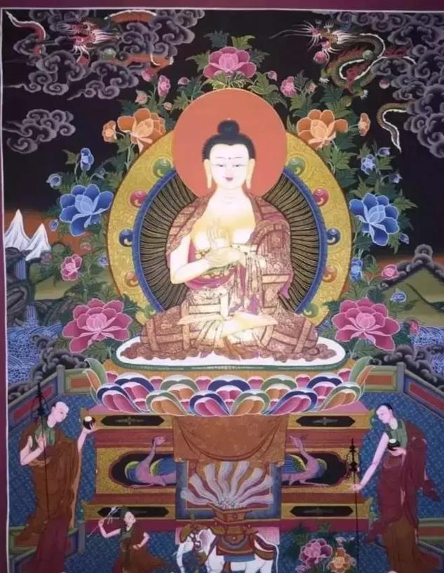 大日如来——释迦牟尼佛的三身之一,五方佛之一-第4张图片